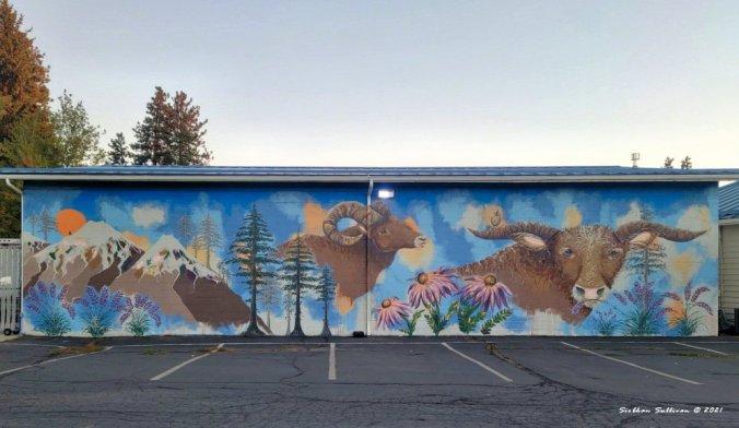 Landscape if Dreams mural