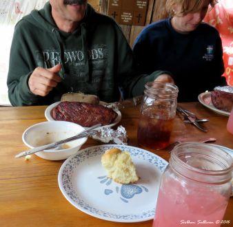 Steak at Cowboy Dinner Tree