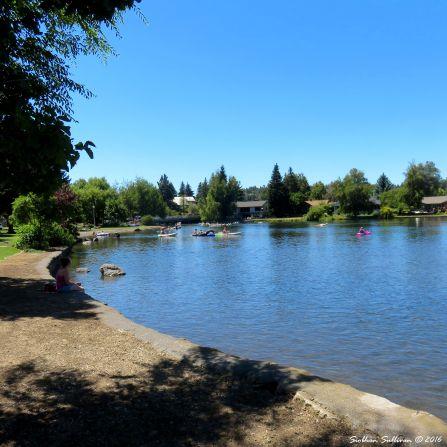 Mirror Pond, Bend, Oregon