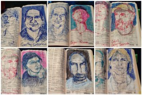 yellow page portraits