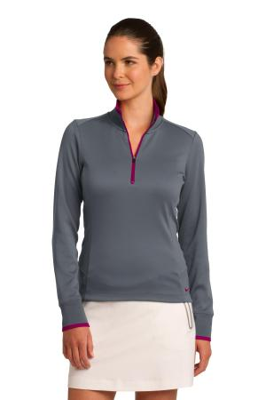 Nike Ladies Dri-FIT 1/2-Zip Cover-Up. 578674