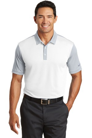 Nike Dri-FIT Colorblock Icon Modern Fit Polo.  746101