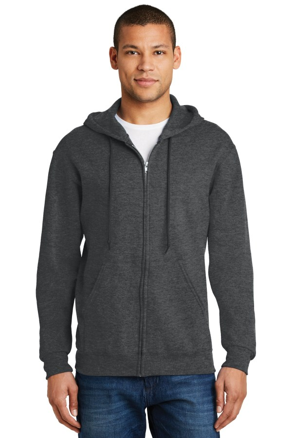 JERZEES - NuBlend Full-Zip Hooded Sweatshirt.  993M