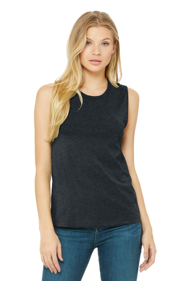 BELLA+CANVAS  Women's Jersey Muscle Tank. BC6003