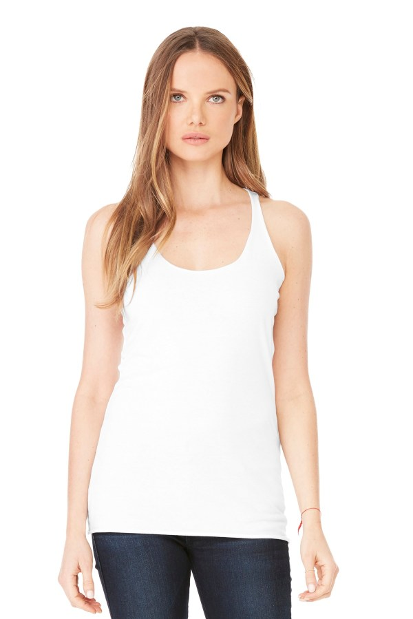 BELLA+CANVAS  Women's Triblend Racerback Tank. BC8430