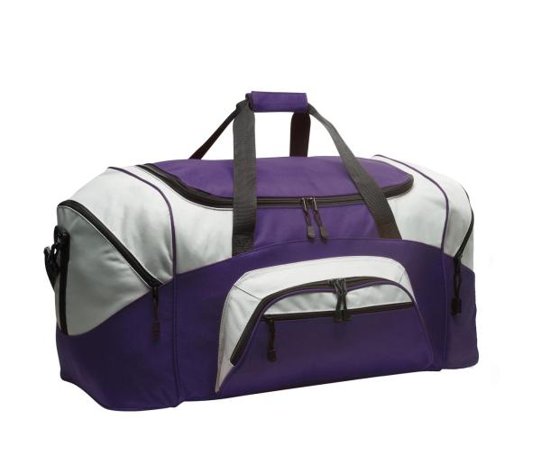 Port Authority - Standard Colorblock Sport Duffel.  BG99