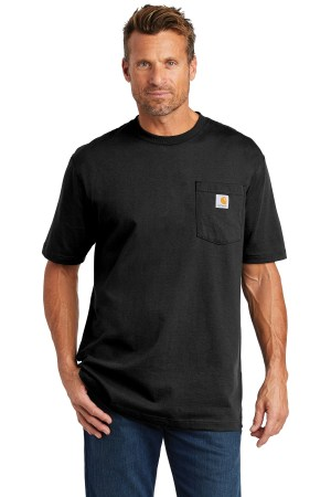 Carhartt  Tall Workwear Pocket Short Sleeve T-Shirt. CTTK87