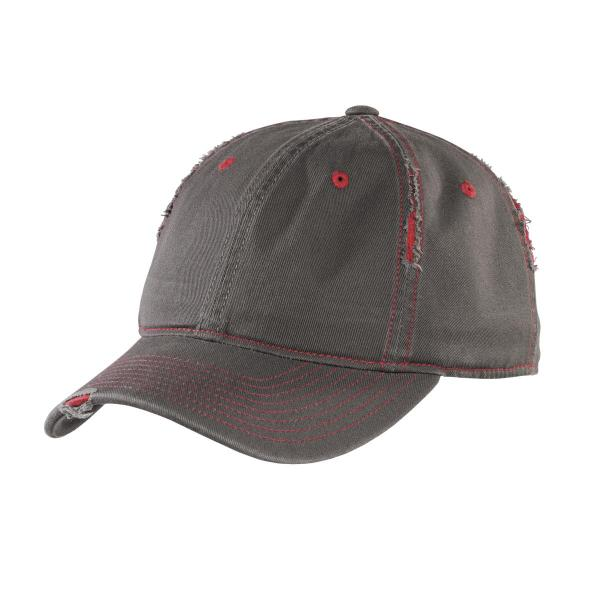 District Rip and Distressed Cap DT612