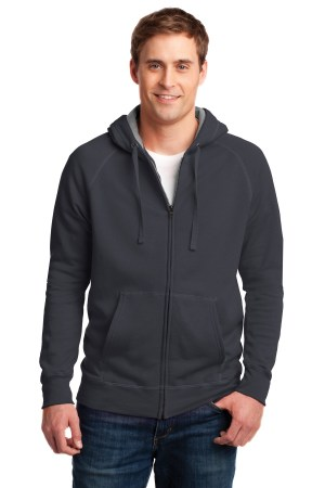 Hanes Nano Full-Zip Hooded Sweatshirt. HN280