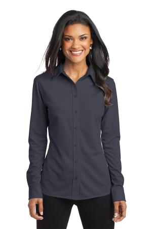 Port Authority Ladies Dimension Knit Dress Shirt. L570
