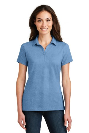 Port Authority Ladies Meridian Cotton Blend Polo. L577