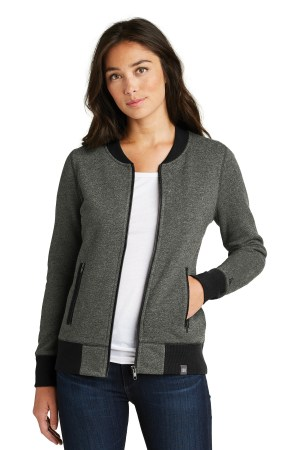New Era  Ladies French Terry Baseball Full-Zip. LNEA503