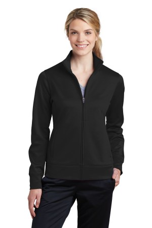 Sport-Tek Ladies Sport-Wick Fleece Full-Zip Jacket.  LST241