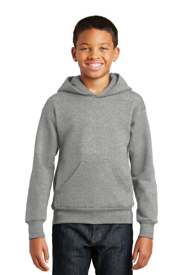 Hanes - Youth EcoSmart Pullover Hooded Sweatshirt.  P470
