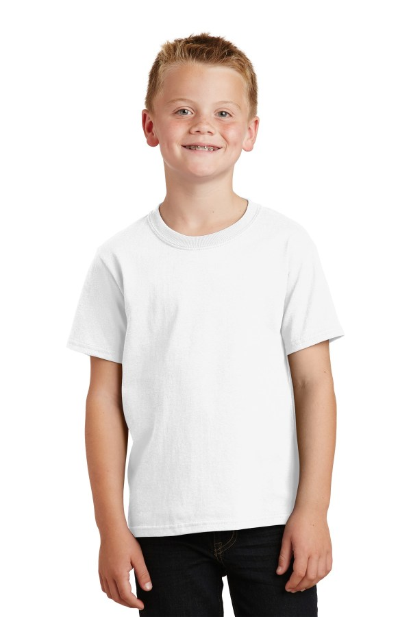 Port & Company Youth Beach Wash Garment-Dyed Tee. PC099Y