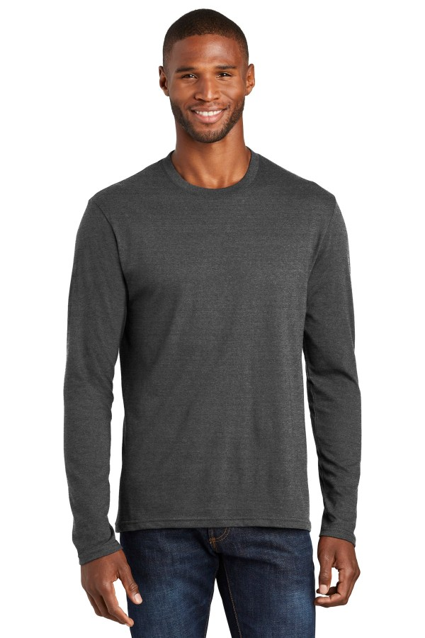 Port & Company  Long Sleeve Fan Favorite  Blend Tee. PC455LS