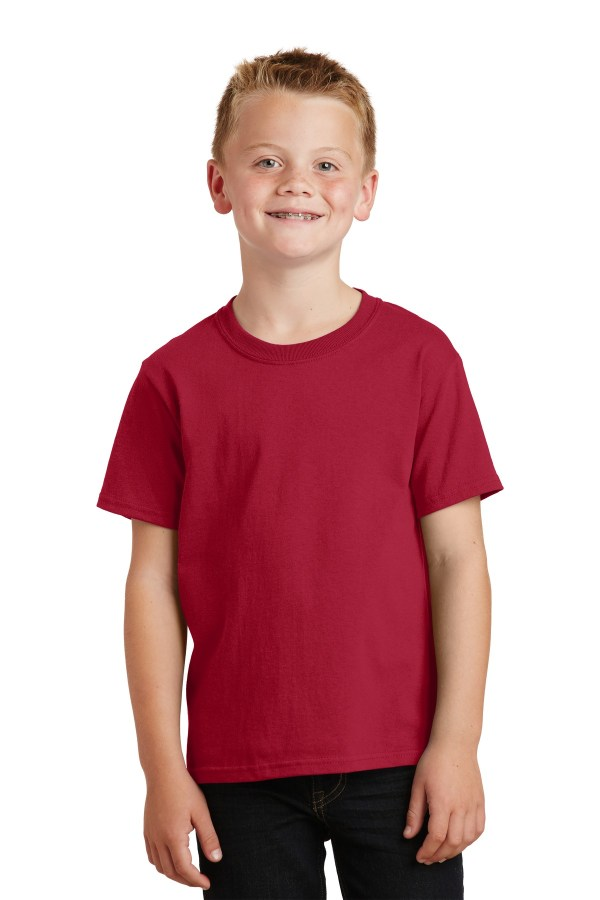 Port & Company - Youth Core Cotton Tee. PC54Y
