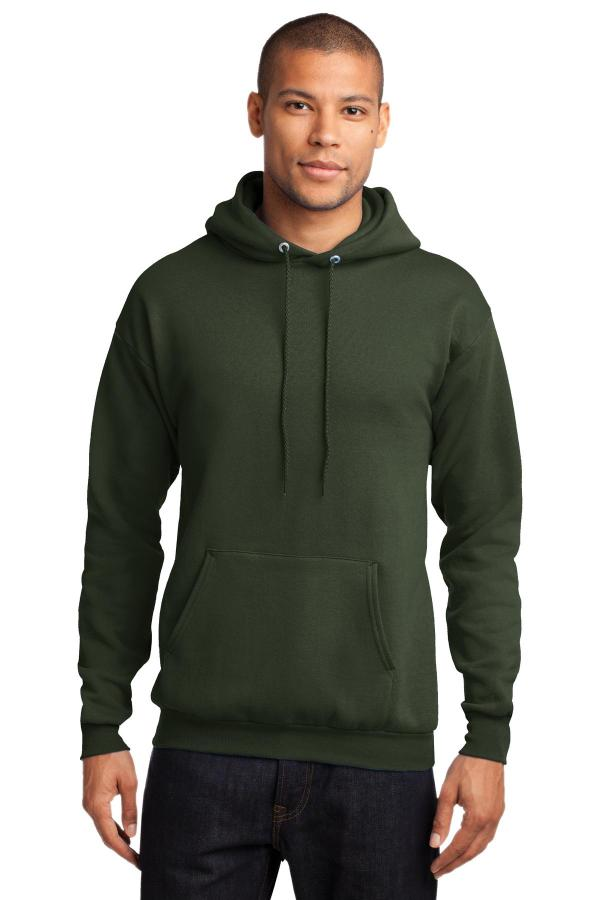 Port & Company - Core Fleece Pullover Hooded Sweatshirt. PC78H