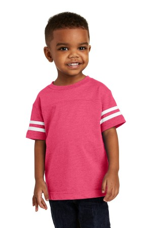 Rabbit Skins Toddler Football Fine Jersey Tee. RS3037