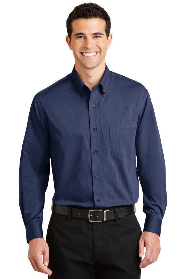 Port Authority Tonal Pattern Easy Care Shirt. S613