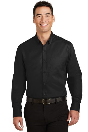 Port Authority SuperPro Twill Shirt. S663