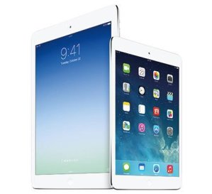 iPad-Air-Familie. Quelle: Apple