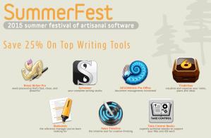 Summerfest Rabatt Aktion auf Produktivitäts-Software. Quelle: http://www.eastgate.com/