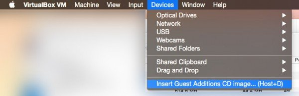 VirtualBox Guest Additions unter Windows auf dem Mac installieren