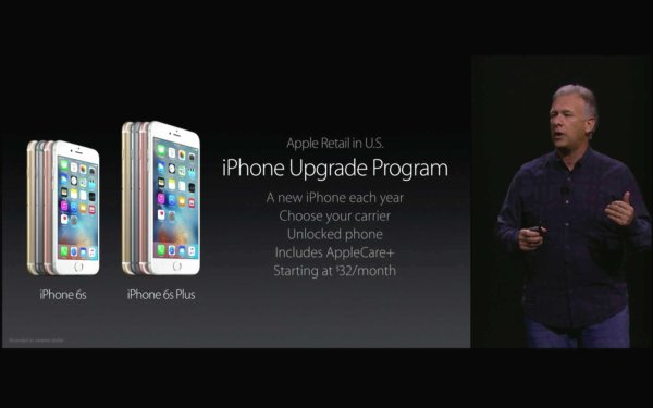 Das iPhone Upgrade Program gibt es zunächst nur in den USA. Quelle: Apple