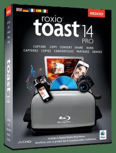 Toast Titanium 14 Pro. Quelle: Roxio