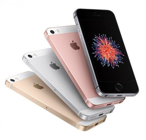 Das iPhone SE sieht aus wie ein iPhone 5 und ist schnell wie ein iPhone 6S. Quelle: Apple.de