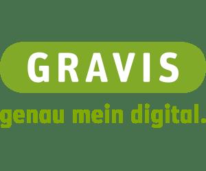 GRAVIS Logo. Quelle: GRAVIS