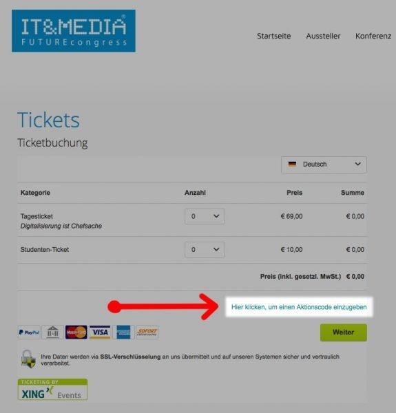 Kostenfreier Eintritt - gratis Tickets für IT&Media Messe in Frankfurt für Bendetta-Leser