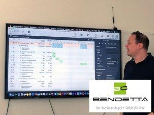 Bendetta.biz Herausgeber Rob Sari zeigt Projektmanagement am Mac mit Merlin Project