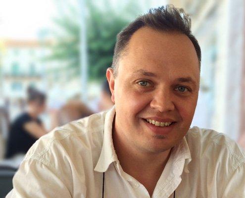 Autor zum Thema Social Media Marketing am Mac auf Bendetta.biz – Business Buyer's Guide für Mac