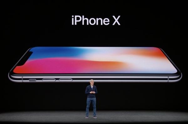 iPhone X ohne Home-Button 2017. Quelle: Apple