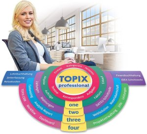 Aus TOPIX:8 basic wird das neue TOPIX professional. Bild: TOPIX AG