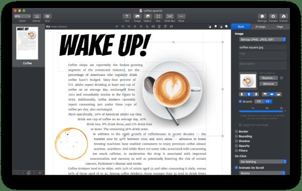 Webseite am Mac erstellen mit Sparkle