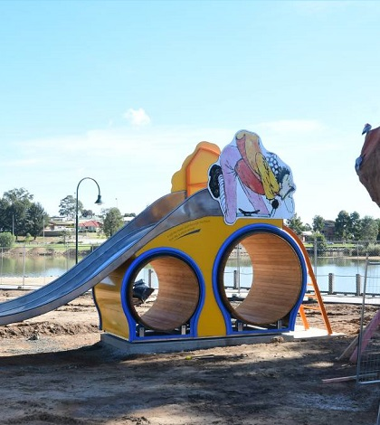 New Eaglehawk Children's Playground Has One Major Drawback