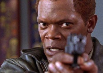This is Samuel L Jackon in The Negotiator. It's a great movie. You should watch it if you haven't already