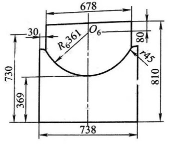 1-15 Manufacturing method of the sixth convex and concave mold