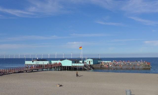 Die Helgoland Badeanstalt am Amager Strandpark