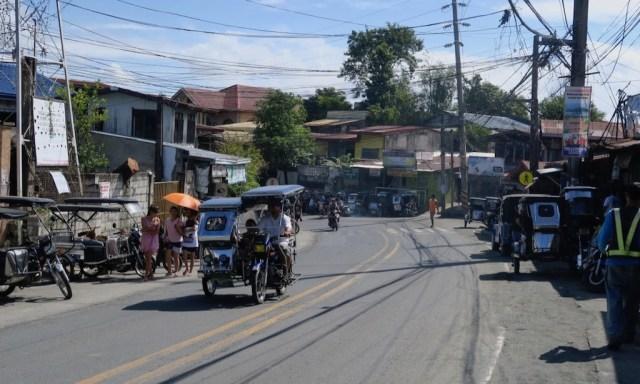 Tricycle in den Straßen Cardona