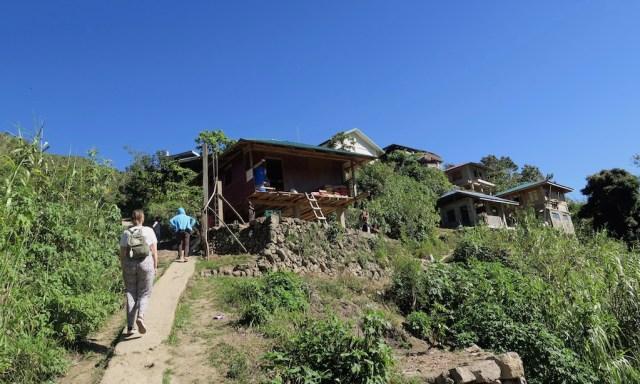 Dorfeingang Buscalan