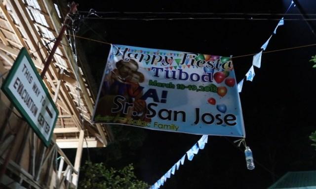 Happy Fiesta Banner Tubod 18-19 March 2018.
