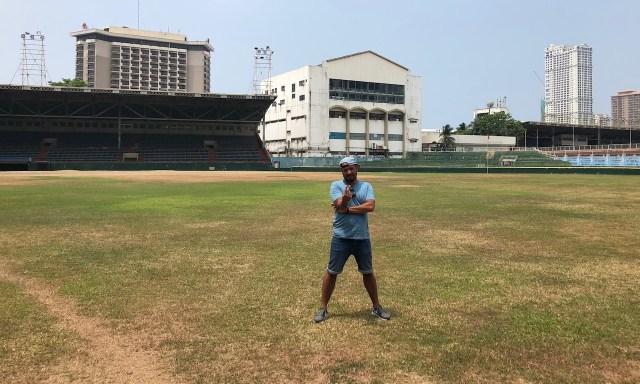 Bendja at Rizal Sport Complex in Manila