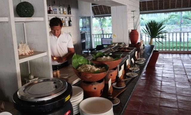 Frühstücksbuffet im Sta. Monica Beach Resort