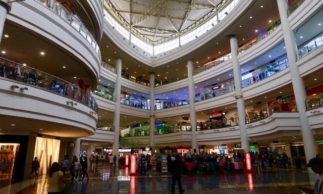 Inside the Robinson Mall Manila
