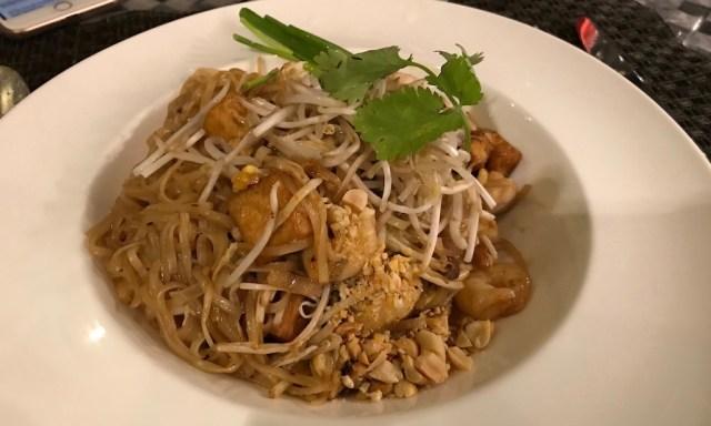 Phad Thai im Spiral Restaurant