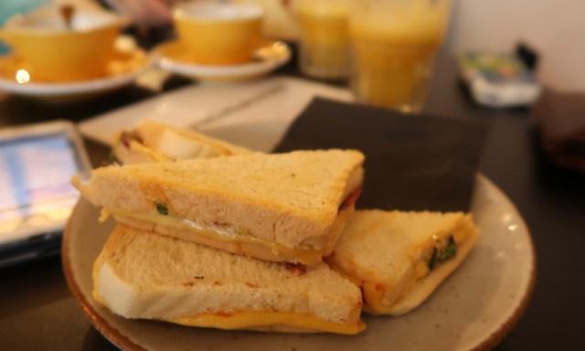 Toasties im Coffeedesk in Kolberg